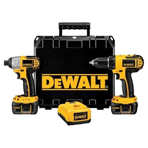 DeWalt 18V Compact/Impact Driver Kit
