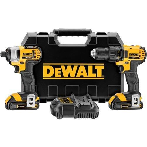 DeWalt 20V Compact/Impact Driver Kit