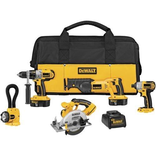 DeWalt 18V XRP 5-Tool Kit