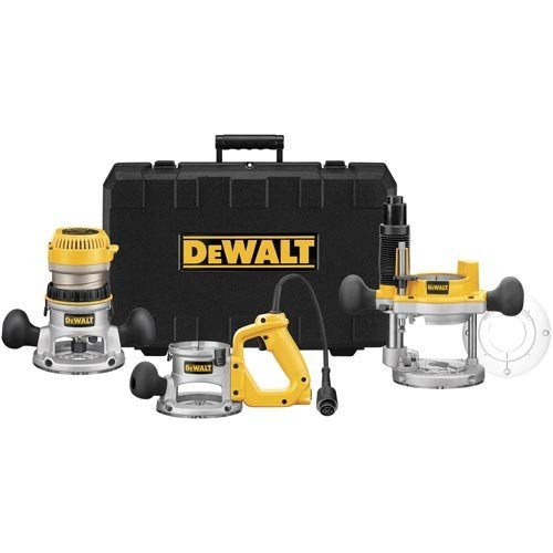 DeWalt 2-1/4 HP Multibase Router Kit