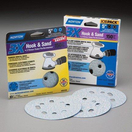 Norton 3X Sanding Discs