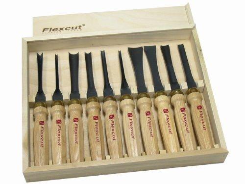 Flexcut 10-Piece Deluxe Mallet Set