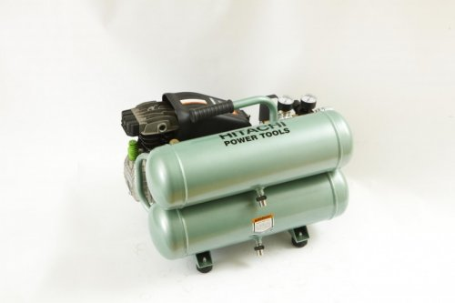 Hitachi Twin Tank Air Compressor