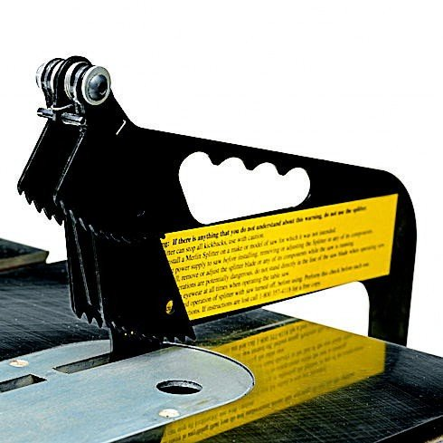 Excalibur Merlin Tablesaw Splitter