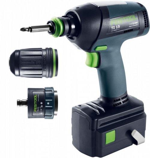 Festool Ti 15 Hybrid Impact Drill/Driver