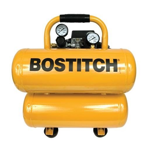 Bostitch 4-Gallon Twin-Stack Compressor