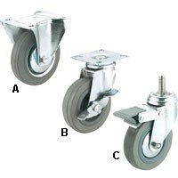 "Peachtree 3"" Swivel Casters"