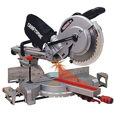 Craftsman 21239 Single Bevel Sliding Compound Mitersaw