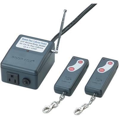 Shop Fox Dust-Collector Remote Control