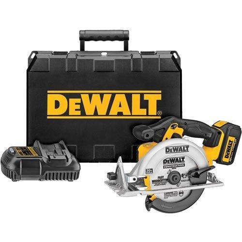 """DeWalt 20V 6-1/2"""" Circular Saw DCS391L1"""