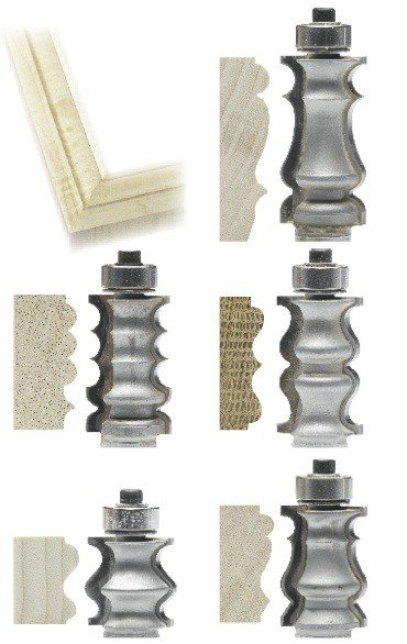 Eagle America picture frame router bits
