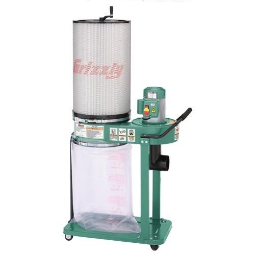 Grizzly 1 HP Dust Collector
