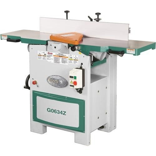 "Grizzly 12"" Spiral Cutterhead Jointer"