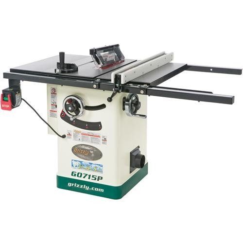 "Grizzly G0715P 10"" 2-HP Hybrid Tablesaw"