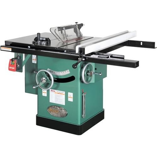 "Grizzly G1023RL 10"" 3 HP 220V Left-Tilting Cabinet Saw"