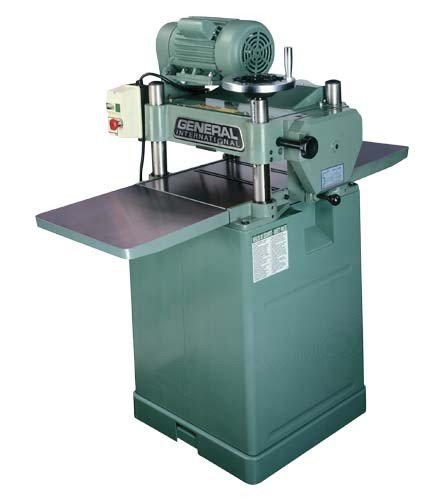 "General International 3 HP 15"" Planer"