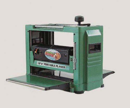 "Grizzly 12.5"" Portable Benchtop Planer"