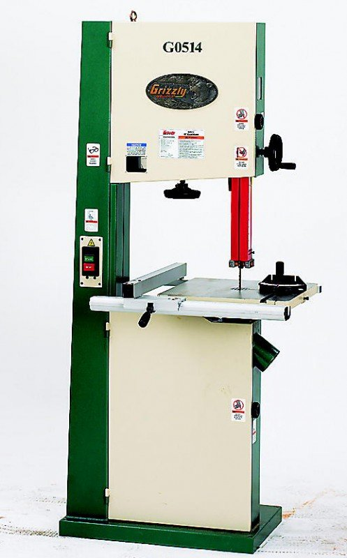 "Grizzly G0514 19"" Heavy-Duty Bandsaw"