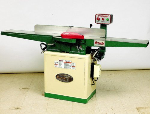 "Grizzly 8"" Spiral Cutterhead Jointer"