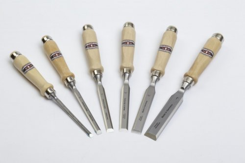 Traditional Woodworker Bevel-Edge Bench Chisels