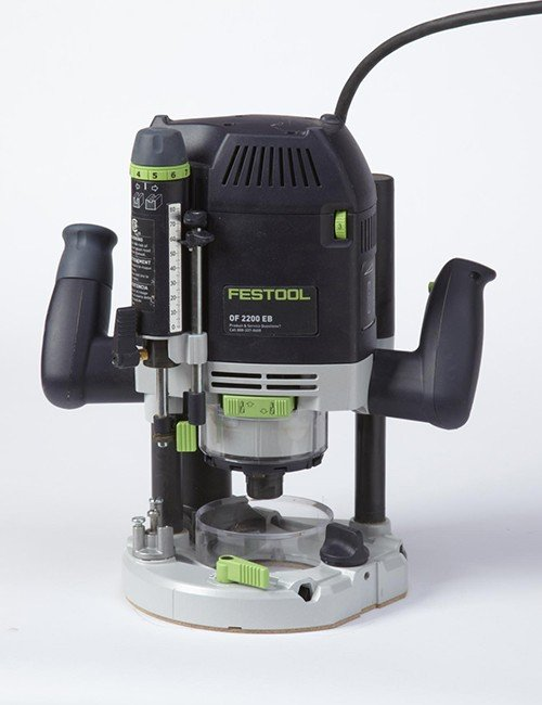 Festool OF2200EB 3-hp plunge router