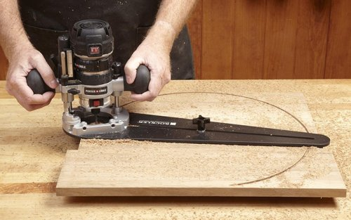 Rockler Compact Router Circle Jig
