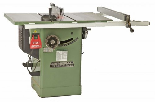 General International 50-200R M1 Tablesaw