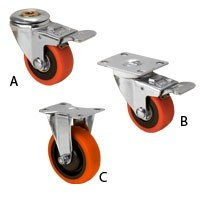 Peachtee double locking swivel casters