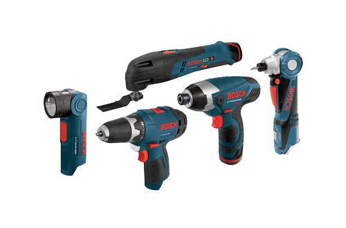 Bosch 12V Five-Tool Kit