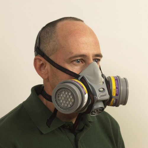 AO Safety QuickLatch Pro Respirator