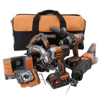 Ridgid 18V 5-Tool Kit
