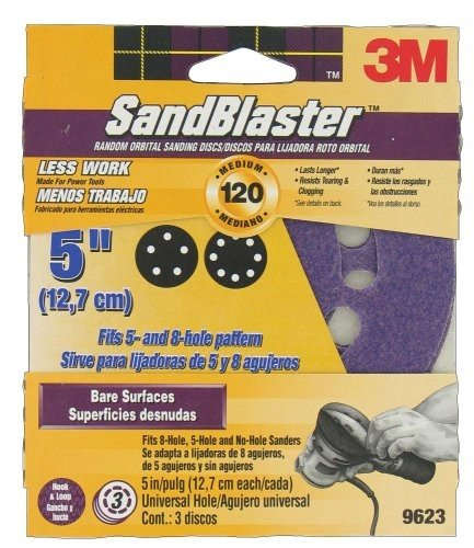 "3M 5"" Sandblaster Discs"