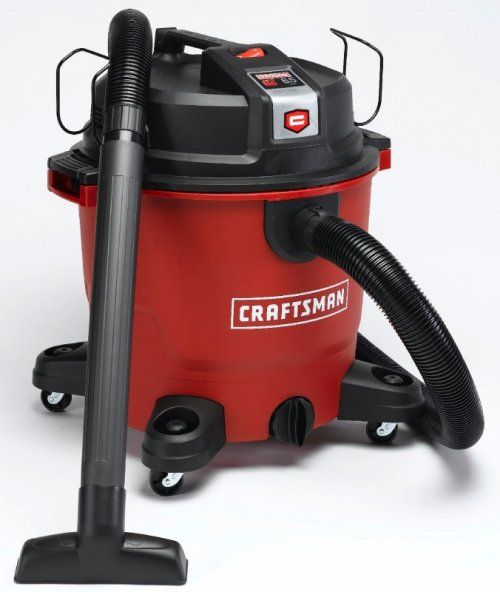 Craftsman XSP 16-gallon wet/dry vacuum