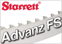 Starrett Advanz FS Carbide Tipped Band Saw Blade