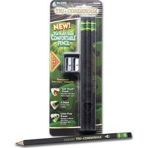Tri-Conderoga Pencil