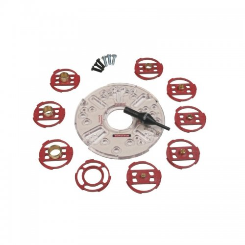 Milescraft TurnLock Base Plate and Bushing Set