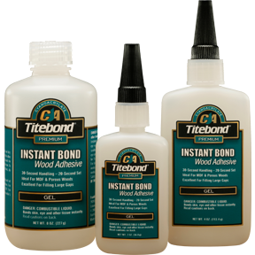 Titebond Instant Bond CA Gel