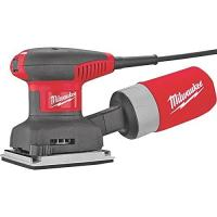 "Milwaukee 1/4""-sheet single-speed palm sander 6020-21"