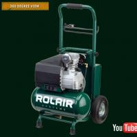 Rolair 3.2-gallon VT20TB wheeled compressor