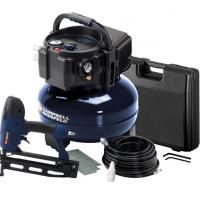 Campbell Hausfeld Finish Nailer/Compressor Kit