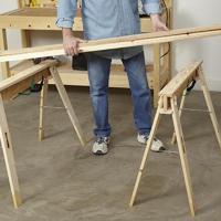 HideAHorse folding sawhorses