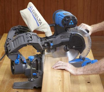 Delta Cruzer 10 Sliding Compound Mitersaw Wood Magazine