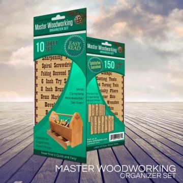 Master Woodworking Organizer Set