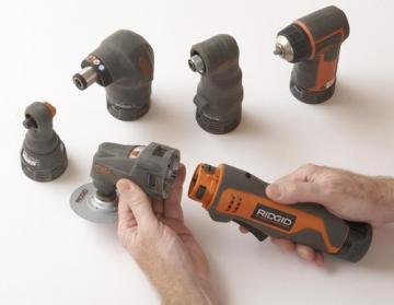 Ridgid 12V JobMax Multi-Head Tool System