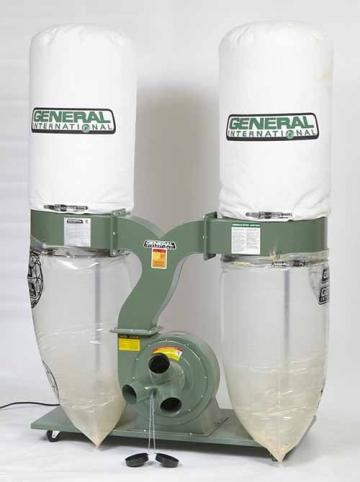 General International 3 HP Dust Collector