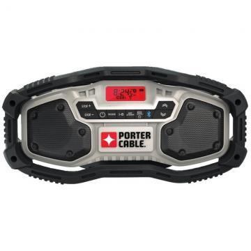Porter-Cable 20V Bluetooth Radio PCC771B
