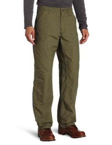 Carhartt Double Front Canvas Work Dungarees