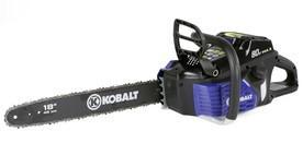 Kobalt 80-volt chainsaw (KCS 180B-06)