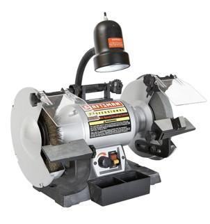 "Craftsman 8"" Variable Speed Bench Grinder"