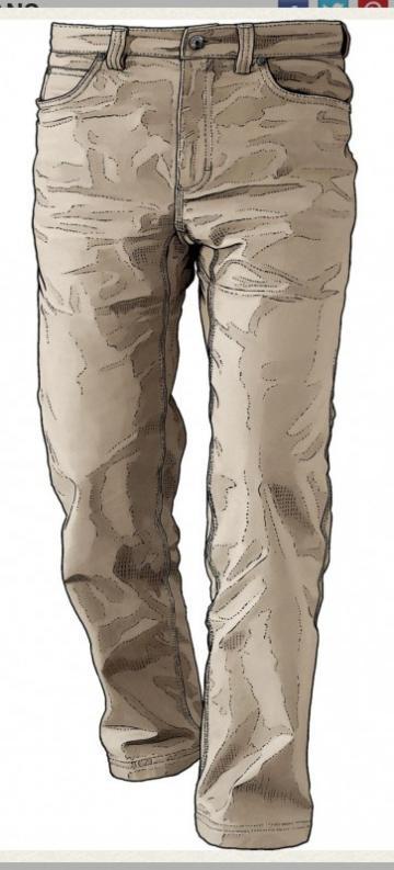 Duluth Trading Men's DuluthFlex Fire Hose Canvas Jeans